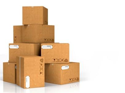 Cardboard Boxes Isolated on White Background..jpeg