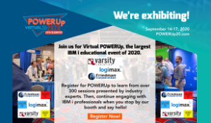 Join Varsity at COMMON PowerUp IBM event